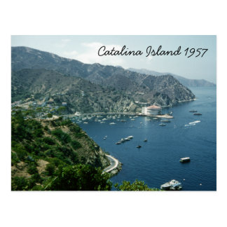 Catalina Island Retro 1957 Historic Landmark Postcard