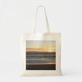Catalina Island Sunset, California Budget Tote Bag