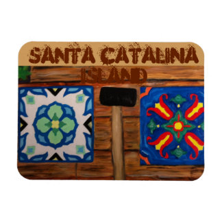 Catalina Island Tile Magnet Avalon Catalinaclay