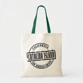 Catalina Island Title Budget Tote Bag