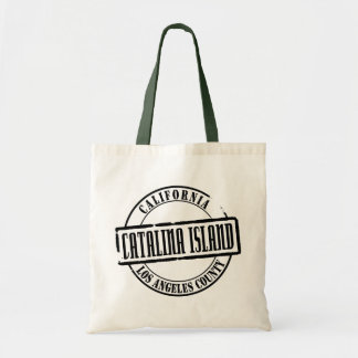 Catalina Island Title Tote Bag
