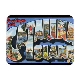 Catalina Island_Vintage Travel Poster Artwork Magnet