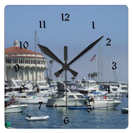 Catalina Island Wall Clock