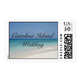 Catalina Island Wedding Postage