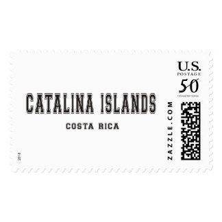 Catalina Islands Costa Rica Postage