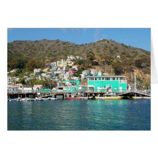 Catalina Pleasure Pier Greeting Card