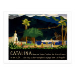Catalina por Otis Shepard, C. 1935. Postal