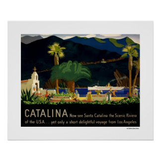 Catalina por Otis Shepard, C. 1935. Poster