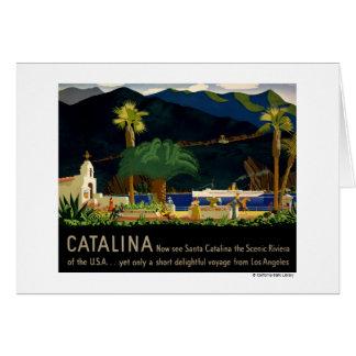 Catalina por Otis Shepard, C. 1935. Tarjeta