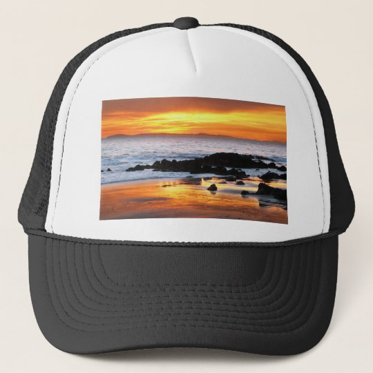 Catalina Sunset Trucker Hat