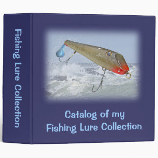 Catalog Fishing Lure Collection - Fishmaster 3 Ring Binder