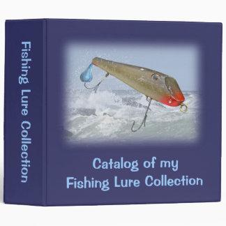 Catalog Fishing Lure Collection - Fishmaster Binder