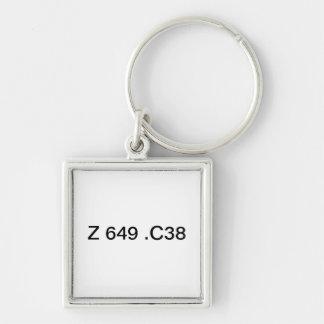 Catalogers keys keychain