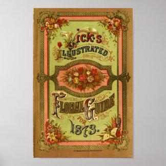 Catálogo de semilla del vintage impresiones