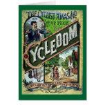 Catálogo del vintage 1886 de Cycledom Felicitacion
