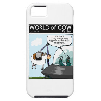 Catálogos de la vaca iPhone 5 protectores