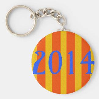 Catalonia 1714-2014 , Catalunya cartell, artwork Key Chains