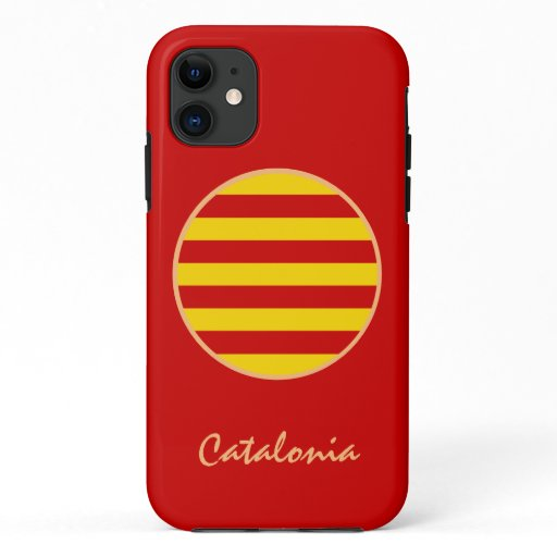 Catalonia & Catalan Flag fashion La Senyera /sport iPhone 11 Case