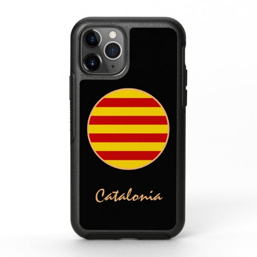 Catalonia & Catalan Flag fashion La Senyera sports OtterBox Symmetry iPhone 11 Pro Case