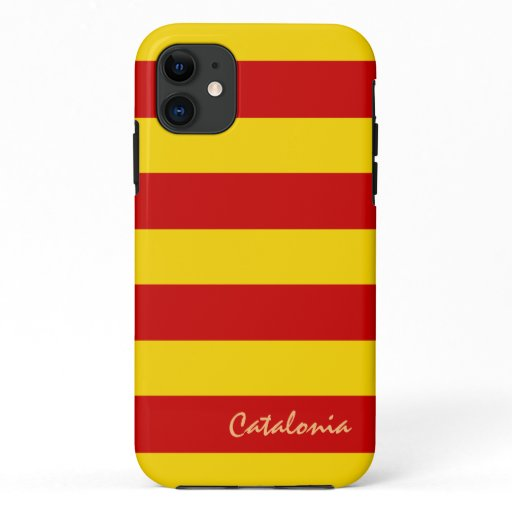 Catalonia & Catalan Flag fashion sports La Senyera iPhone 11 Case