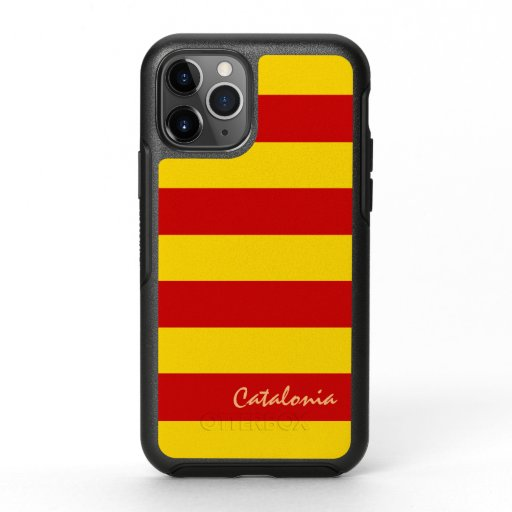 Catalonia & Catalan Flag fashion sports La Senyera OtterBox Symmetry iPhone 11 Pro Case