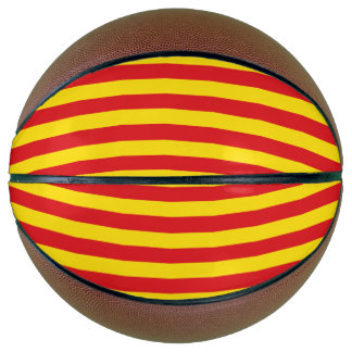 Catalonia Flag Basketball