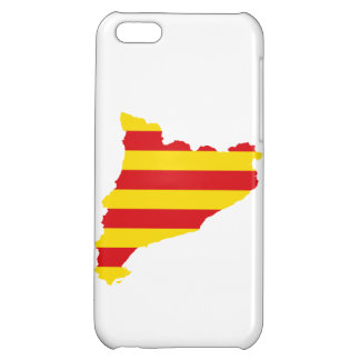 Catalonia Flag Map Case For iPhone 5C