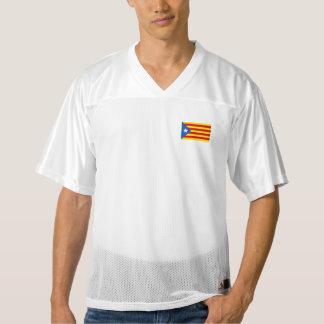 Catalonia Flag Men's Football Jersey