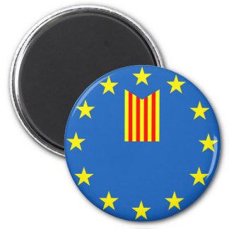 Catalonia Refrigerator Magnet