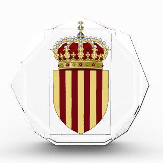 Catalonia (Spain) Coat of Arms Acrylic Award