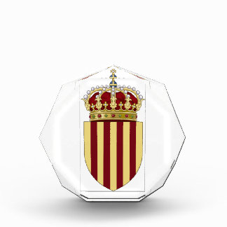 Catalonia Spain Coat of Arms Award