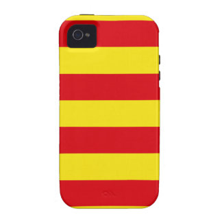 Catalonia Spain Flag Vibe iPhone 4 Cover
