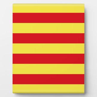 Catalonia (Spain)  Flag Plaque
