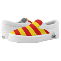Catalonia - square. printed shoes