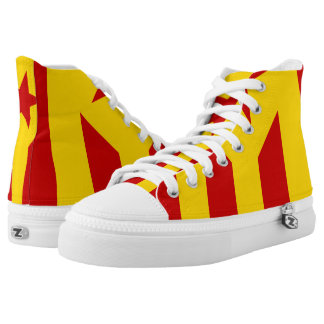 Catalonian Independence - square.png High-Top Sneakers