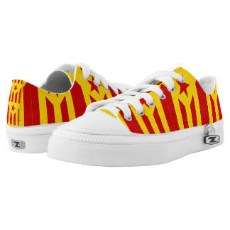 Catalonian Independence - square.png Low-Top Sneakers