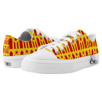 Catalonian Independence - square.png Printed Shoes