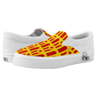 Catalonian Independence - square.png Slip-On Sneakers