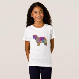 Catalonian sheepdog in watercolor T-Shirt