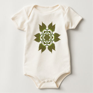 Catalpa Leaf Baby Bodysuit