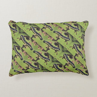 Catalpa Worms Camo Catfish Fishing Accent Pillow