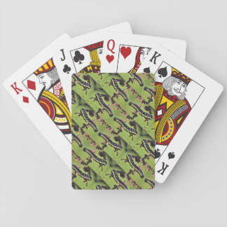 Catalpa Worms Camo Catfish Fishing Playing Cards
