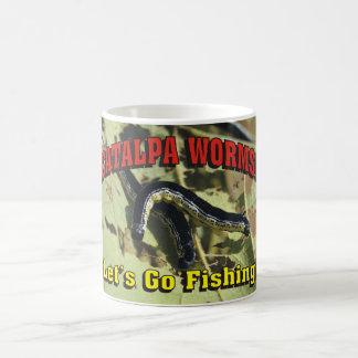 Catalpa Worms! Let's Go Fishing! Coffee Mug