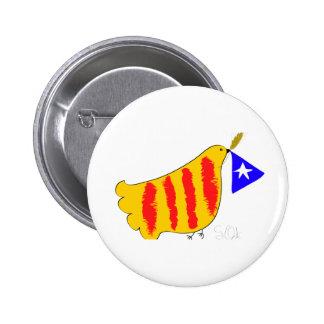 Cataluña patriótica, llibertat de Catalunya Pins