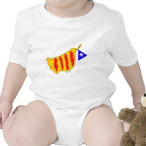 Cataluña patriótica, llibertat de Catalunya Traje De Bebé