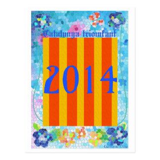 Catalunya 2014 postcard