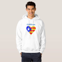 Catalunya heart hoodie
