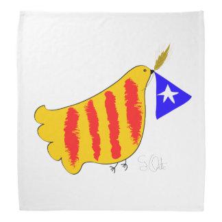 Catalunya Pau i Llibertat, colom Independència de Bandanas