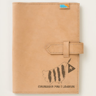Catalunya Pau i llibertat Custom Leather Journal