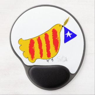 Catalunya Pau i Llibertat gel mousepad. Gel Mouse Pad